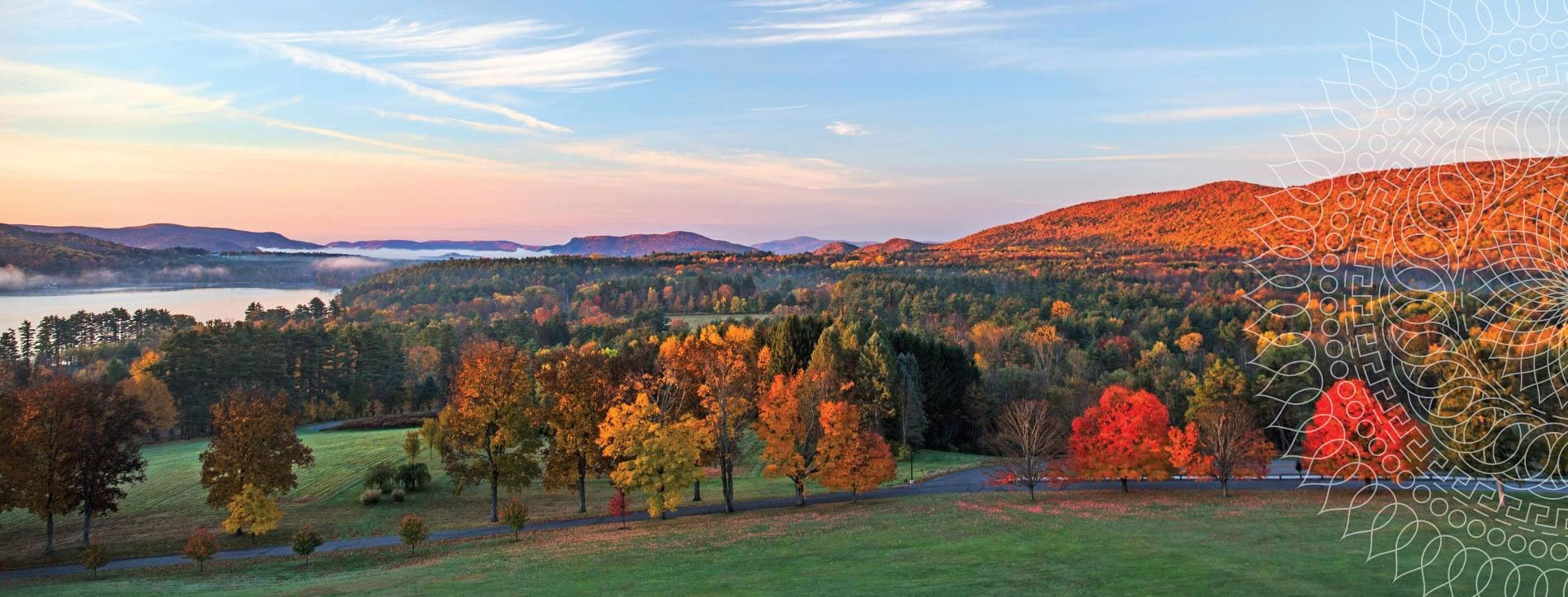Kripalu yoga and meditation, Stockbridge, MA