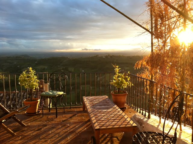 Retreat Center in restored 13th century property with studio close to Rome, Italy
