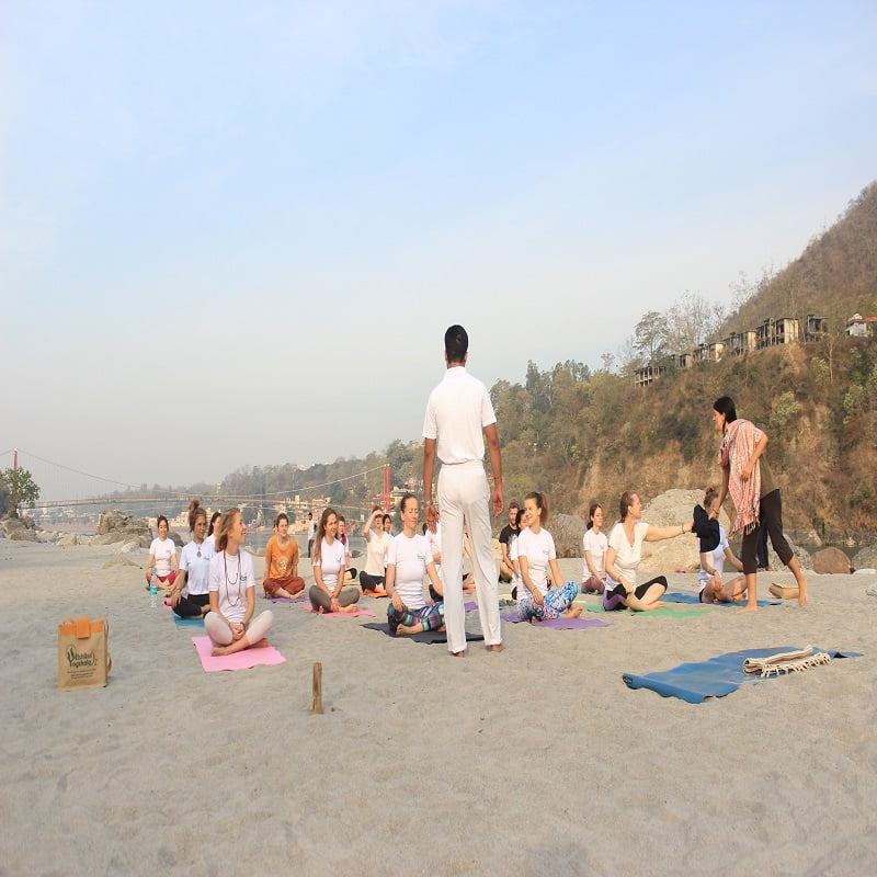 Certified Yoga Teacher in Rishikesh