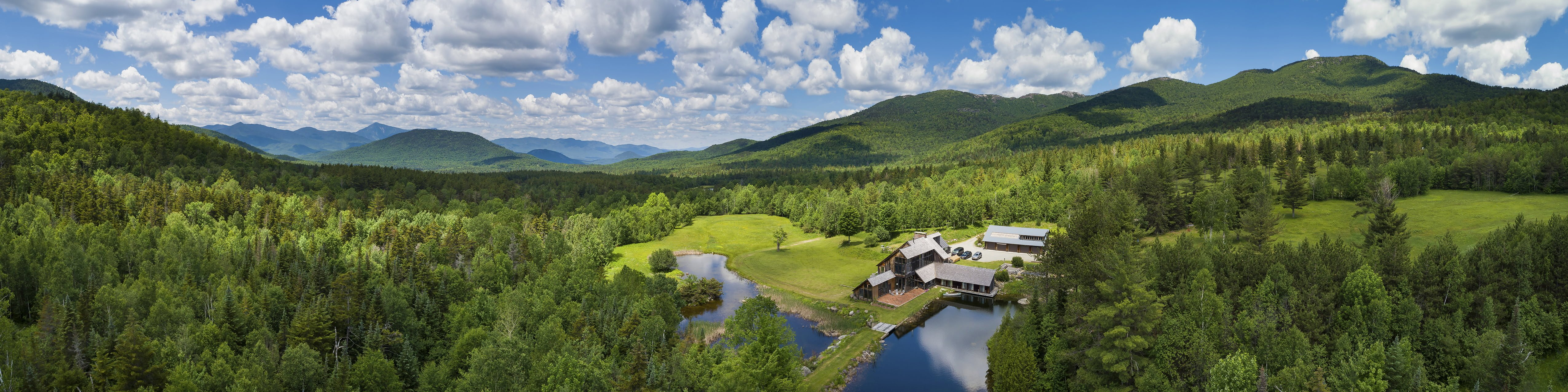 GLEN OVERLOOK:  Adirondack High Country Wilderness Retreat
